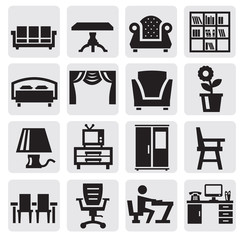 furniture and home icons