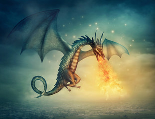 Wall Murals Dragons Dragon