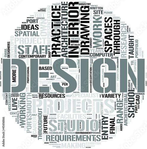 quot;Interior Design Word Cloud Conceptquot; Stock image and royaltyfree vector files on Fotolia.com - Interior Designer Word Business Card Zazzle