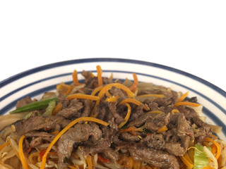Fried Beef and Noodles