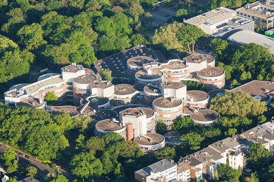 Universitaet Duisburg von oben