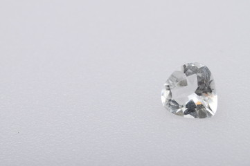 Close up of diamant gem