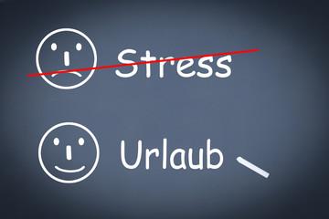 Stress urlaub