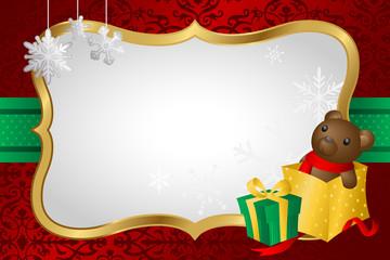 Christmas shopping background