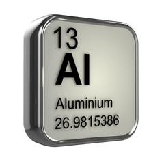 3d Periodic Table - 13 Aluminium