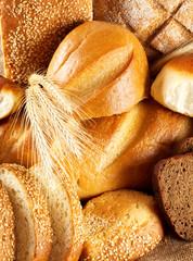 Black and white bread