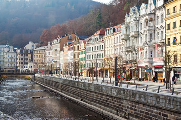 View of Karlovy Vary. Czech Republic