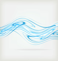 Abstract background wave