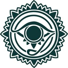 Auge der Vorsehung - Auge Gottes - Horus Auge