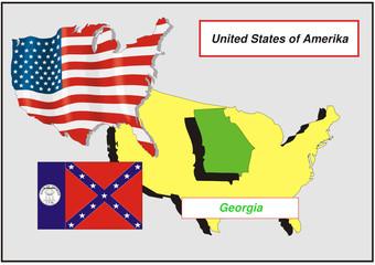 Vereinigte Staaten von Amerika - Georgia