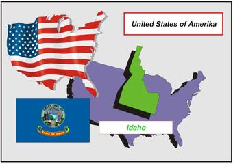 Vereinigte Staaten von Amerika - Idaho