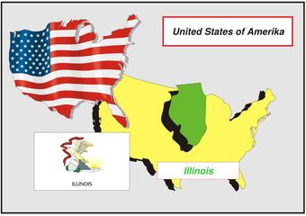 Vereinigte Staaten von Amerika - Illinois