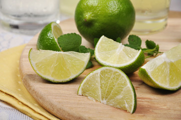 Fresh  limes