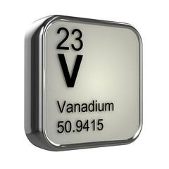 3d Periodic Table - 23 Vanadium