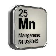 3d Periodic Table - 25 Manganese
