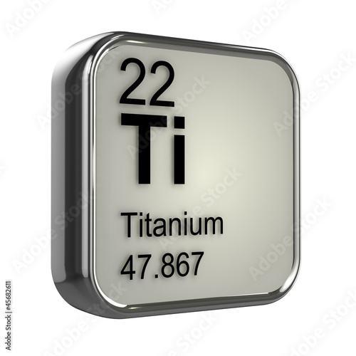 3d Periodic Table   22 Titanium