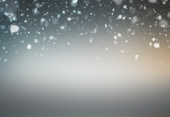 Abstract Snowflake background