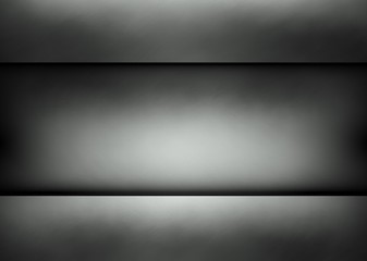 Clean metal template background