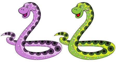 The snake symbol in 2013