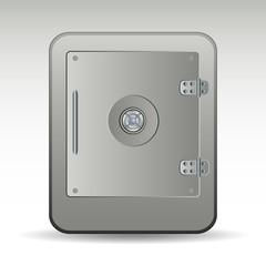 Safe vector icon