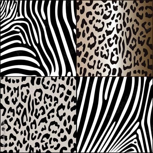 zebra und leopardenmuster stockfotos und lizenzfreie vektoren auf bild 45713291. Black Bedroom Furniture Sets. Home Design Ideas