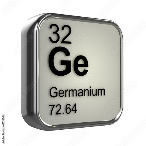 3d Periodic Table 32 Germanium Stock Photo And Royalty Free