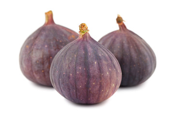 Ripe purple fig fruits