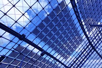 Fotobehang Aan het plafond Abstract industrial background