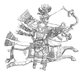Persian King as a Warrior