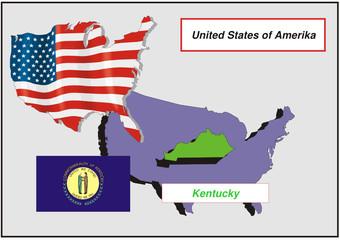 Vereinigte Staaten von Amerika - Kentucky