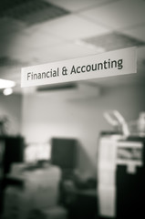 Financial and accounting room