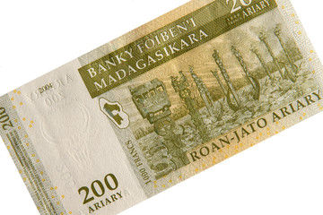 Banknote aus Madagaskar - 200 Ariary
