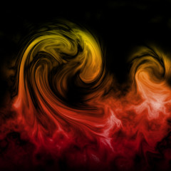 flame as background