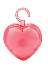 Air Freshener in Heart Shaped Plastic Container