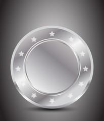 blank silver award