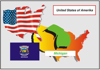 Vereinigte Staaten von Amerika -Michigan