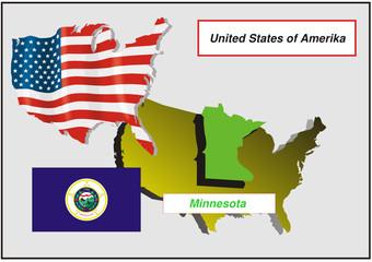 Vereinigte Staaten von Amerika -Minnesota