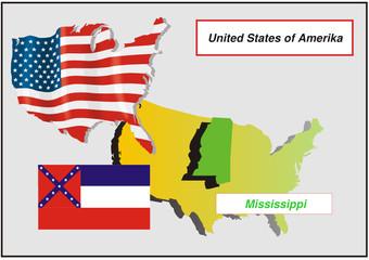 Vereinigte Staaten von Amerika -Mississippi