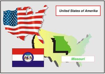 Vereinigte Staaten von Amerika -Missouri