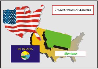 Vereinigte Staaten von Amerika - Montana