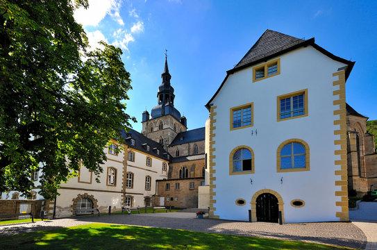 Benediktinerabtei Tholey im Saarland