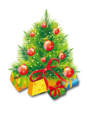 Christmas tree,Christmas, new year ,background