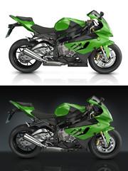 Papier Peint - Sport Motorcycle