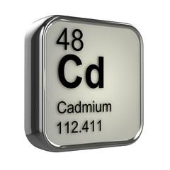 3d Periodic Table - 48 Cadmium
