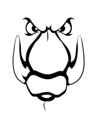 Mascot Tattoo Vector