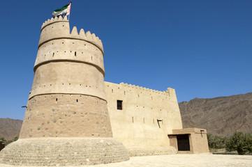 Bithnah Fort in Fujairah United Arab Emirates
