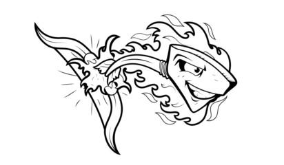 Arrow Mascot