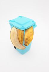 Bananenschale Biomüll