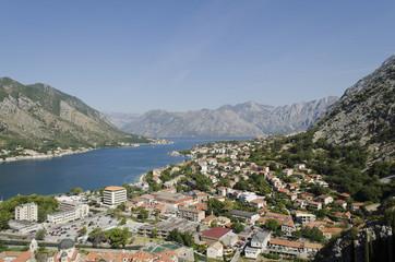 Kotor old town and Boka Kotorska bay, Montenegro