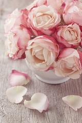 Obraz Pink roses - fototapety do salonu